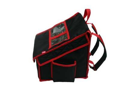 Backpack to fit 4xm  35cm-pizzas nylon + magnet