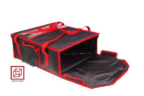 Borsa per 2 scatole pizza, dimensioni interne 35 x 35 x 11 c