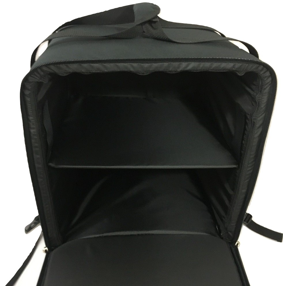 Backpack black solide Large, 45x45x48 (H) outside dimensions