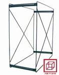 T2 S frame supplied loose 35x35x11cm Stainless steel