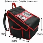 Backpack to fit 4xm  35cm-pizzas heated version.