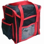 Lunchbox-4, Nylon with Magnetclosing, 26x22x30(H)cm