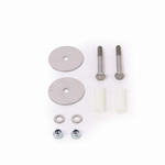Mounting kit with 2 long screws, washers and nuts